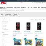 LEGO Super Heroes Helmet Range 76199, 76187, 76182 $75ea (RRP $89.99) Delivered @ Kmart (Online Only)