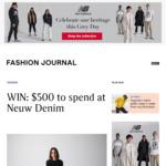 Win a $500 Neuw Denim Voucher from Fashion Journal