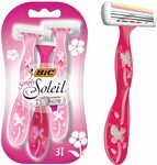 BIC Simply Soleil Disposable Women's Razors - 3 Shavers $1.77 ($1.59 S&S) + Delivery ($0 with Prime/ $39 Spend) @ Amazon AU