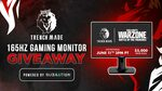 Win an ASUS 165Hz Gaming Monitor from Trench Made Gaming & Subnation