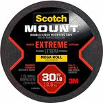 [Prime] Scotch Extremely Strong 13.6kg Mounting Tape 10m $14.13, Clear 1.5m $5.48, Clear 11.4m $23.44, & Some More @ Amazon AU