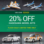 20% off Hasegawa Model Kits + $9.50 Delivery ($0 with $99 Spend) @ Hobbyco