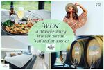 Win 1 Night at Crowne Plaza, $300 Juan & Me + $300 Hillbilly Cider Shed Gift Card (Worth $1500) from Hillbilly Cider (NSW)