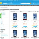 Samsung Sale @ Unique Mobiles - S3 from $479, Note 2 $595, Note 2 4G $799 + $18.80 Shipping