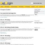 Net Origin - 1 Year of Free Web Hosting, 50% OFF VPS Hosting