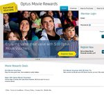 Optus Movie Rewards 1 Adult and 1 Child Ticket for $15 (Optus Number and Registration Required)
