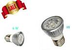 White 6W 8W E27 Base Energy LED Light Cool Warm Light Bulb $1 Delivered
