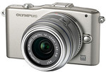 Olympus PEN Mini E-PM1 Single Lens Kit Silver $249 @ Target (in-Store Only)