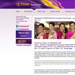 THAILAND for Two with THAI - Special Fares for 2 Adults Travelling Together