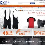 CELL Bikes - Free Shipping This Weekend (24th - 27th Jan)