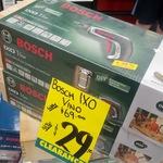 Bosch IXO Vino Cordless Screwdriver $29 @ Bunnings Rockhampton