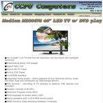 "Medion 40"" FULL HD LED TV w/DVD Player (Refurb) $280 Pick up @ CCPU Computers"
