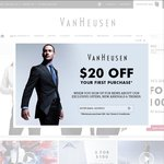 $30 OFF WHEN YOU SPEND $90 SITEWIDE - Only at VanHeusen.com.au !