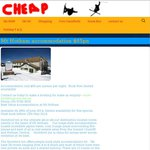 Mt Hotham Accommodation $65pn @ Ski Cheap (VIC)