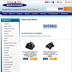 Waterco Robotic Pool Cleaners: R80 $699, R120 $999 - PoolAndSpaWarehouse.com.au