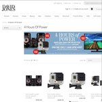 Save $30 - $250 on Selected Electronics at David Jones *Online Only for 4 Hours*