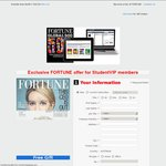 Fortune Magazine 10 Issues All Access (Print + iPad + Online) $29 Plus Free Laptop Bag