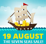 AliExpress Seven Seas Sale- 50%+ off Many Products on 19th August