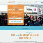 Free 1 Month Unlimited Access to RockMyRun (Music / Running App)