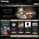Bethesda Store Black Friday Sale - 20% off