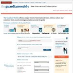 Guardian Weekly - 50% off a 1 Year Subscription