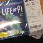 Target - Life of Pi - 3D Blu-Ray - $16.50