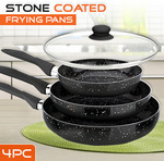 Marble Stone Coated Fry Pan Set with Lid $35 Normally $80 @ Mydeal.com.au + $10 P/H