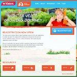 FREE Vegie Seeds from Yates When You Register for Winter Vegie Challenge