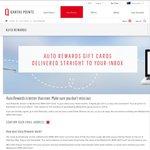 Qantas Points Auto Reward - $20 WISH eGift Card for 3,000 pts