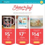 $5.95 Photo Mugs Including Full Image + Delivery (or $2.95 C&C) @ Snapfish (Was $19.95)
