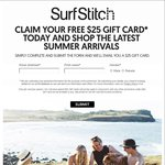 Surfstich $25 Free Gift Card ($50 Min Spend - Email Address Required)