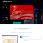 Usenet.farm 40% off Monthly Accounts (€2.97/€5.37) or 20% off for 500GB Block (€10.4)