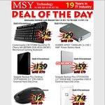 Coolermaster CM STORM Backlit Mechanical Keyboard - $94 @ MSY