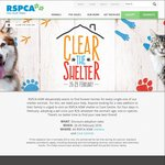 RSPCA NSW $29 Adoption Fee for Animals / Some FREE