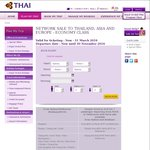 Fly RT to Oslo fr Perth $1050, Melb $1148   Milan fr MEL $1150, SYD $1168, PER $1080 @ Thai Air