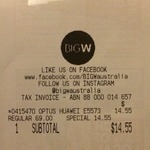 Optus Huawei E5573 4G Wi-Fi Modem $14.55 @ Big W in-Store Only