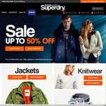 Superdry - up to 50% off Selected Lines