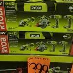 Ryobi One+ 4 Piece Combo Kit $399 @ Bunnings Warehouse