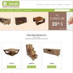 Get $50 off When You Spend $300 or More at toran.com.au