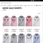 Rhodes and Beckett Buy 2 Get 1 Free Mens Shirts, from $59 Each + $10 Delivery (Free over $200)