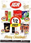 Connoisseur 1L $4.84, Pringles 134G $1.99, Lynx $2.99, Energizer Max AA/AAA 10/8PK $6.49, Coke Varieties 24PK $14.09 @ IGA