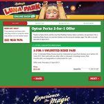Luna Park Sydney Buy 1 Get 1 FREE ($52.78 for 2 Adults Unlimited Rides Pass)