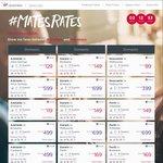 Virgin Australia: 30% off Selected Domestic & International Flights 2- 9 Guests
