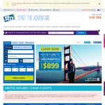 Los Angeles, San Francisco Return from Melbourne $899, Sydney $944 + More Via United @ STA