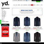 Select yd Mens Suits $99.99 - Online Only till Midnight tonight - Free Shipping or Click & Collect