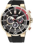Citizen Eco-Drive CA4252-08E 200m WR Steel Chronograph Divers Watch $189 @ Starbuy