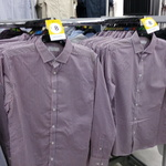 Mens Red Long Sleeve Check Business Shirt 100% Cotton $8 on Clearance @ Kmart (Kippa Ring, QLD)