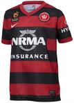 Nike Western Sydney Wanderers Home & Away Jerseys $19.95, $70 off (+ $15 Shipping if You Cannot Click & Collect)