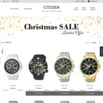 [NSW] Citizen Watches Australia Warehouse Sale (In Store & Online) - Eg Q&Q SmileSolar Series $20 @ Frenchs Forest, NSW