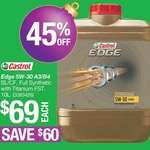 Repco - Castrol Edge 5W-30 Engine Oil 10L $69 [Save $60 until 13/12], Castrol RX Diesel 15W-40 20L $69 [Save $60] 7-8 Dec Only*